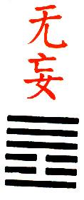 Ji Djing heksagram 25 Wu Wang Iznenadjenje