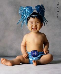 Beba u znaku riba 1