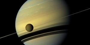 Fotografije Saturna i Titana