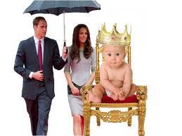 princ vilijam beba