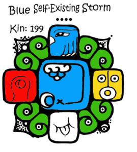 Kin 199 plava samopostojeca oluja