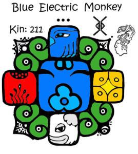 Kin 211 Plavi Elektricni Majmun