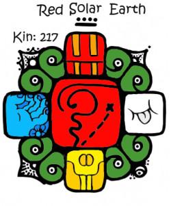 Kin 217, Crvena Solarna Zemlja
