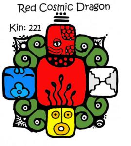 Kin 221, Crveni Kosmicki Zmaj