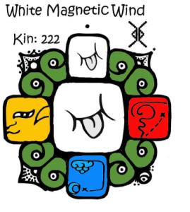 Kin 222, Beli Magnetni Vetar