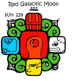 Kin 229, Crvena Galakticka Luna