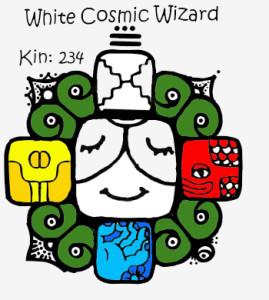 Kin 234, Beli Kosmicki Carobnjak