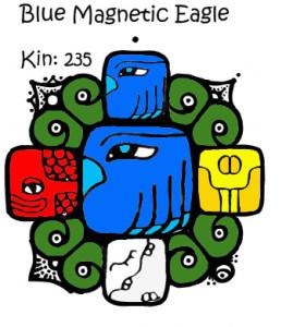 Kin 235, Plavi Magnetni Orao