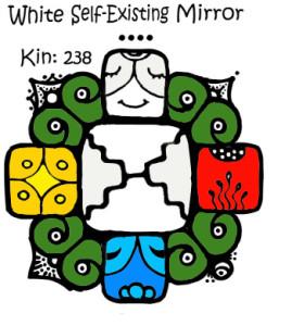 Kin 238, Belo Samopostojece Ogledalo