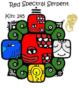 Kin 245, Crvena Spektralna Zmija