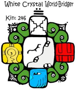 Kin 246, Beli Kristalni Spojitelj Svetova