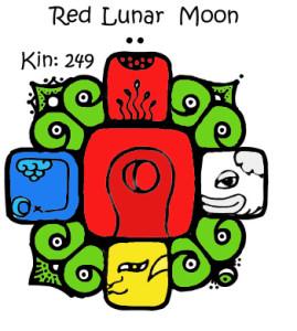Kin 249, Crvena Lunarna Luna