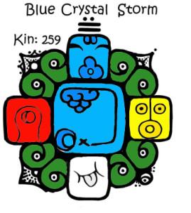 Kin 259, plava kristalna oluja