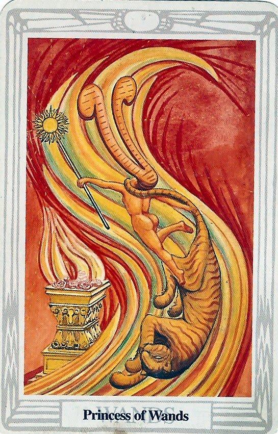 Princeza Štapova – Princeza Sijajućeg Plamena, Ruža Palate Ognja