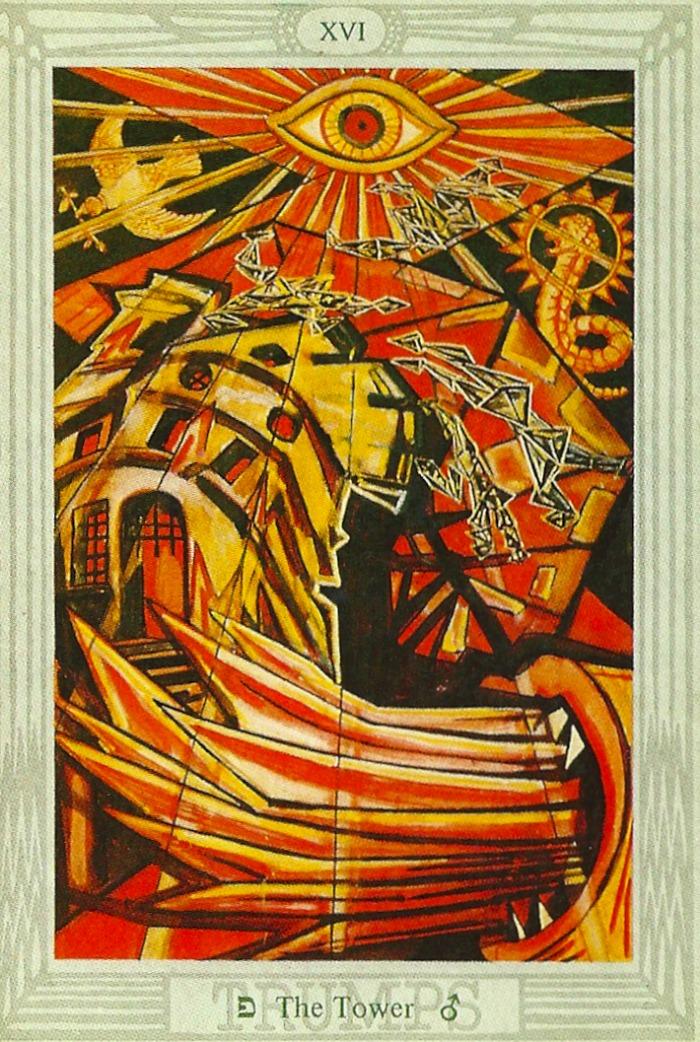 Tarot XVI Kula (ili Rat)