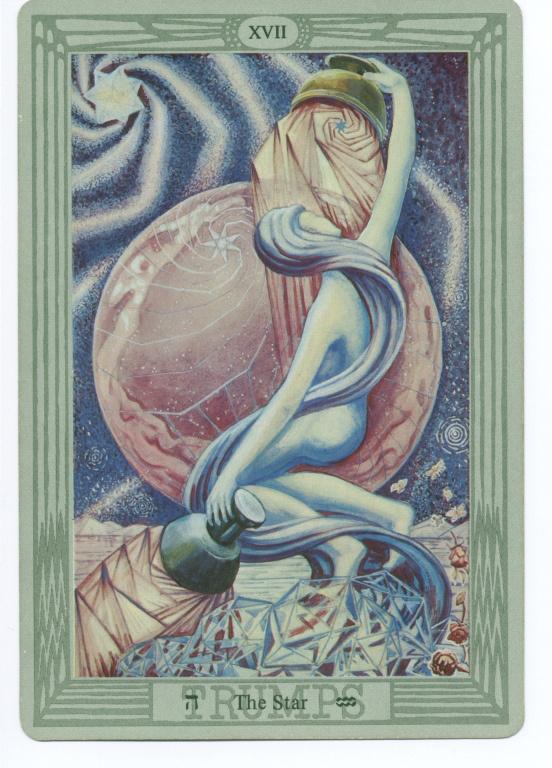 Tarot XVII Zvezda