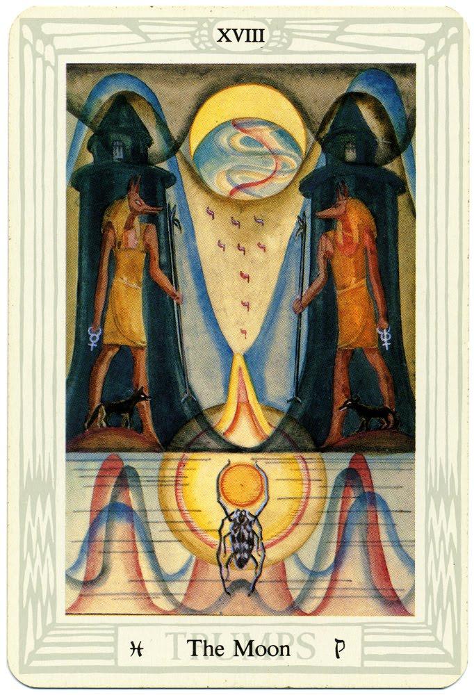 Tarot XVIII Mesec