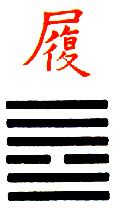 Ji Djing heksagram 10 Lu Mudro postupanje