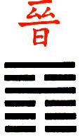Ji Djing Heksagram 35 Chin, Napredak