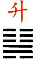 Ji Djing Heksagram 46 Sheng Uspon