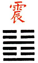 Ji Djing Heksagram 51 Chen Grom