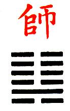 Ji Djing Heksagram 7 Shih Vojska