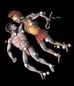 Fiksne zvezde Kastor i Poluks