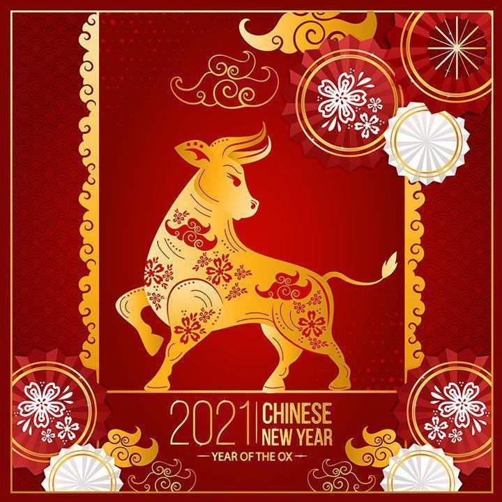 Srećne boje za godinu metalnog Bivola 2021