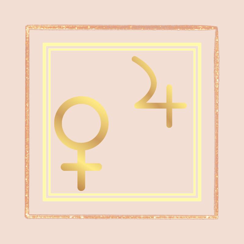 Venera sekstil Jupiter *tranzit